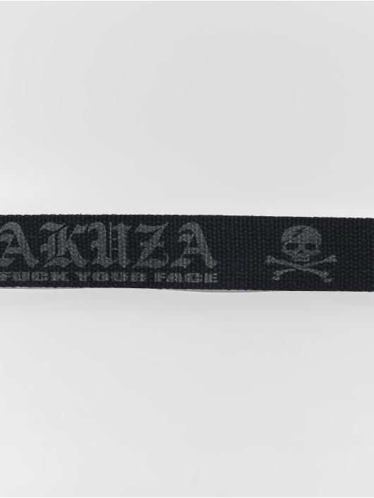 Yakuza Gürtel Daily Canvas schwarz