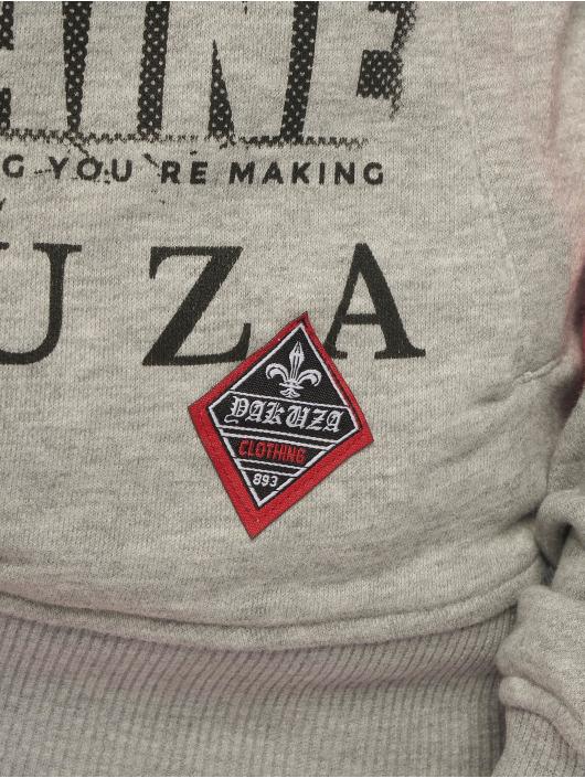 Yakuza Hettegensre Cocaine Two Face Cross Neck grå
