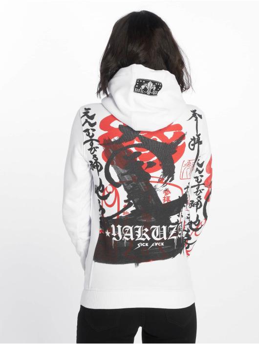 Yakuza Hettegensre Japanese Flex hvit