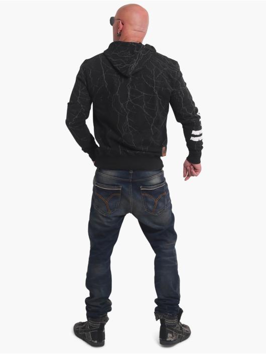 Yakuza Hoodie Toxin black