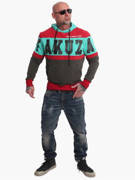 Yakuza Hoodie Tri Star black