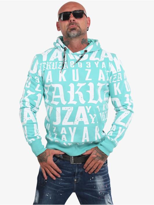 Yakuza Hoodie Branding blue