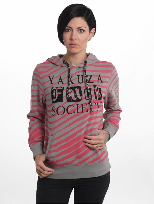 Yakuza Hoodie Trip grå
