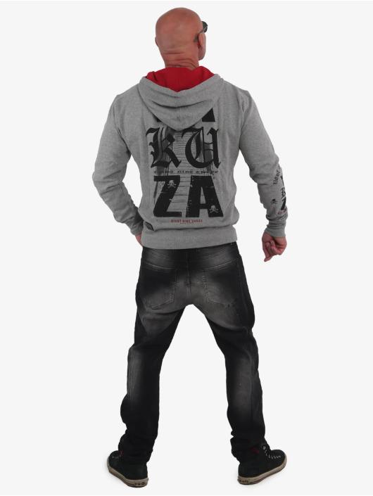 Yakuza Hoodie Know gray