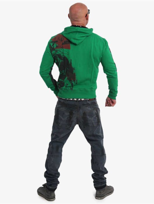 Yakuza Hoodie Mask N Man green