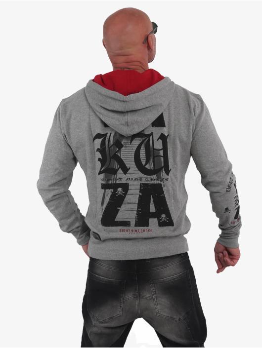 Yakuza Hoodie Know grey