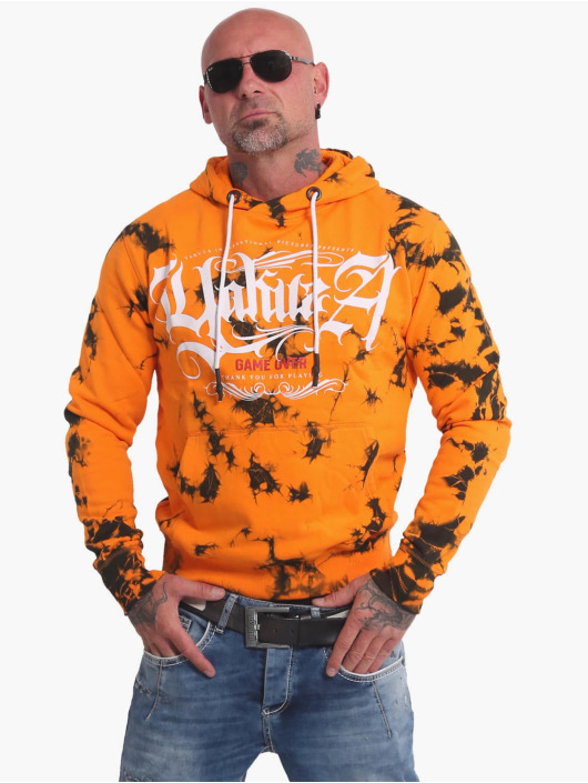 Yakuza Hoodie Rules Batik orange