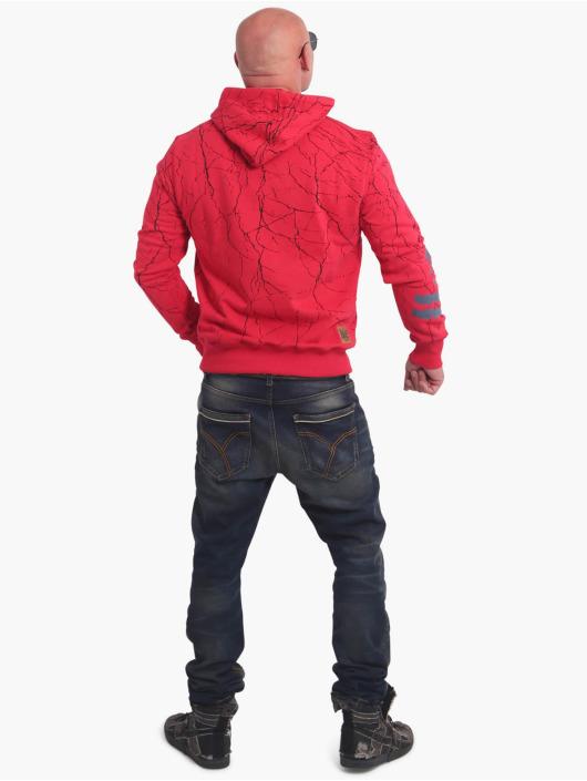 Yakuza Hoodie Toxin röd