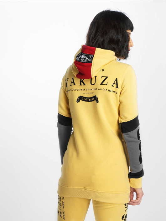 Yakuza Hoodie Imperator Flex Long yellow