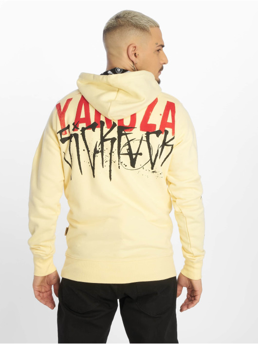 Yakuza Hoodie Smile yellow