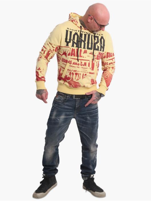Yakuza Hoodie Wallpaper yellow