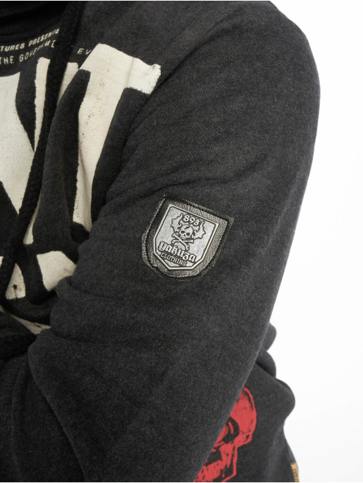 Yakuza Hoodies Smile čern