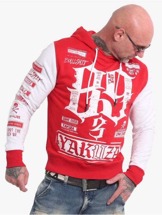 Yakuza Hoodies Die Hard Two Face červený
