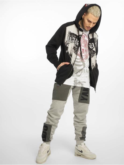 Yakuza Hoodies con zip Raven nero