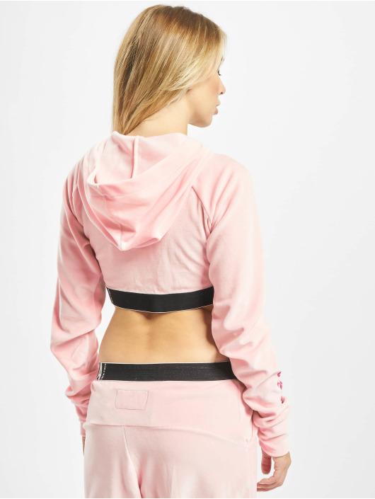 Yakuza Hoodies con zip Active S&F Sport rosa chiaro