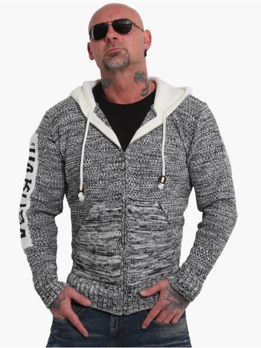 Yakuza Hoodies Spoosh Knit grå