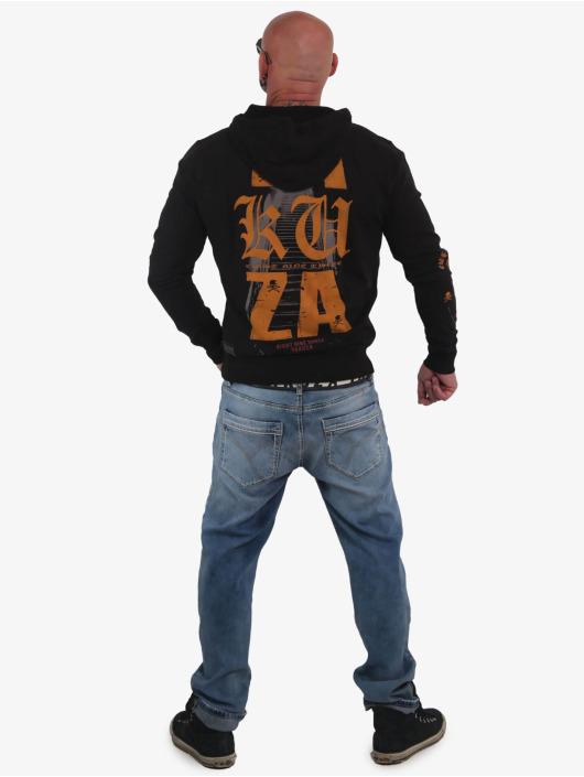 Yakuza Hoody Know schwarz