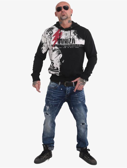 Yakuza Hoody Crucified schwarz