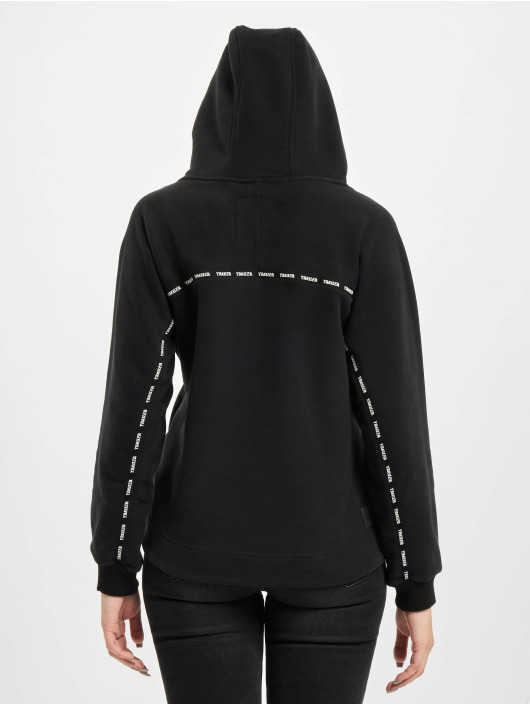 Yakuza Hoody Bottom Cropped schwarz