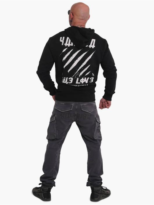 Yakuza Hoody We Love schwarz