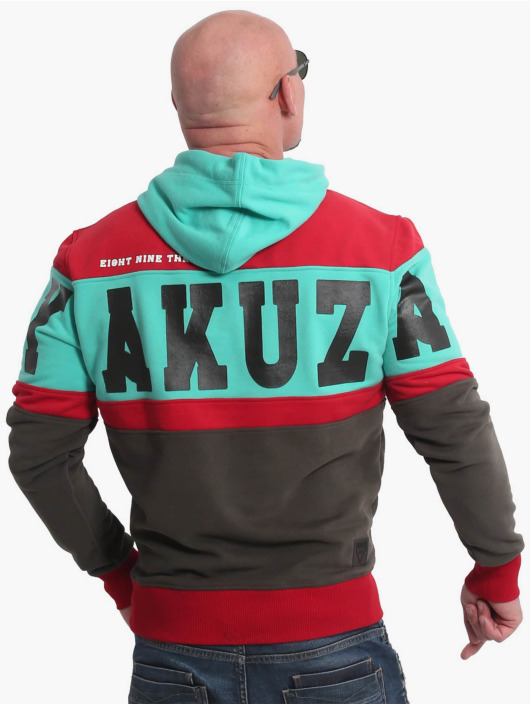 Yakuza Hoody Tri Star zwart