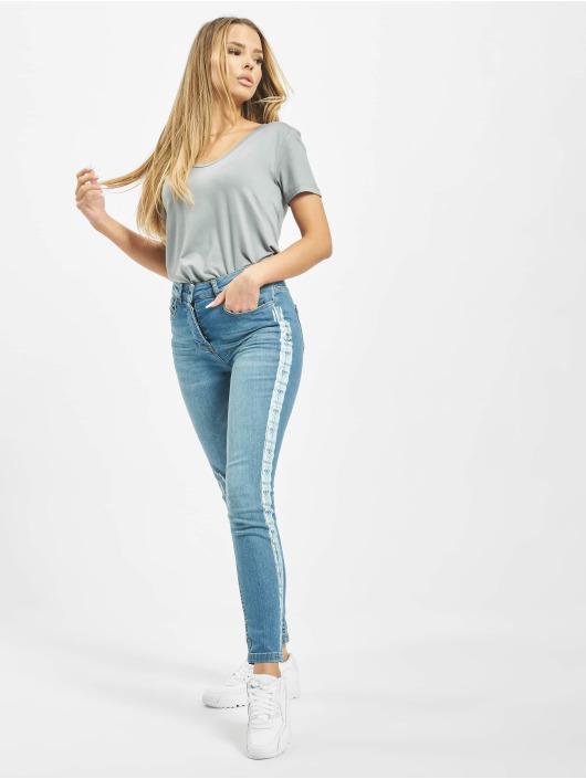 Yakuza Jeans slim fit Paint blu