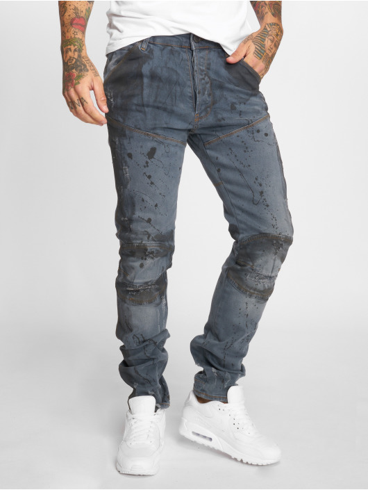 Yakuza Jeans straight fit 893 blu