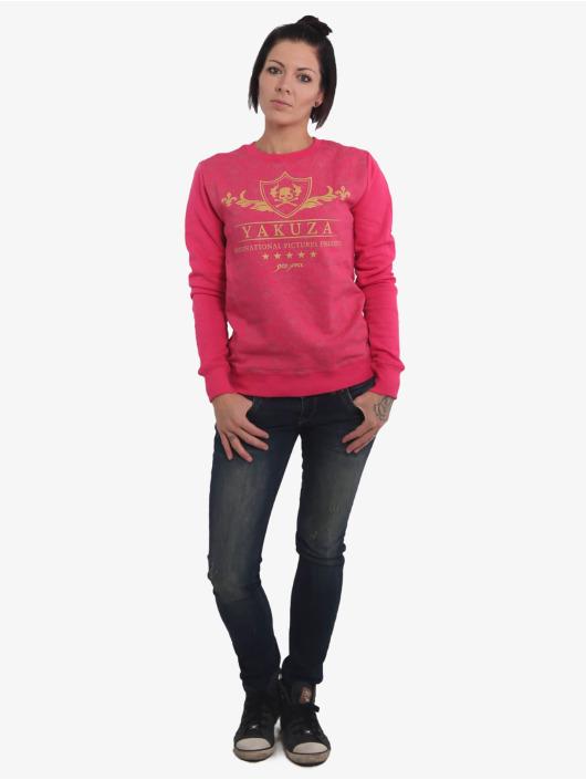 Yakuza Jersey Crests rosa