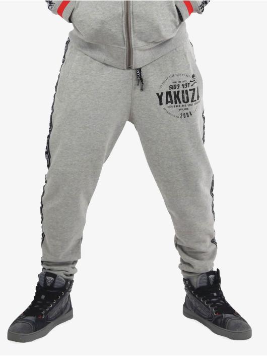 Yakuza Joggebukser Bad Side grå