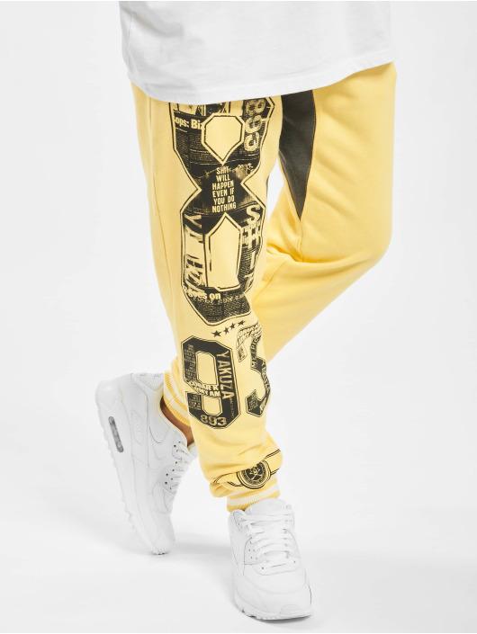 Yakuza Jogging Badge jaune