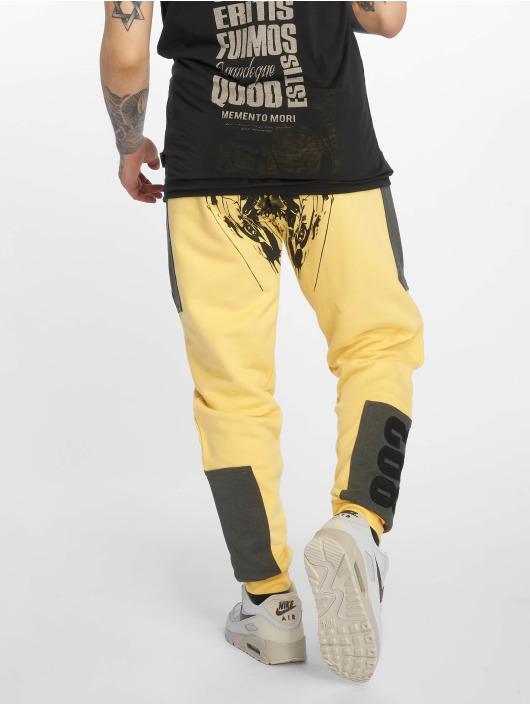 Yakuza Jogging kalhoty Imperator Two Face žlutý