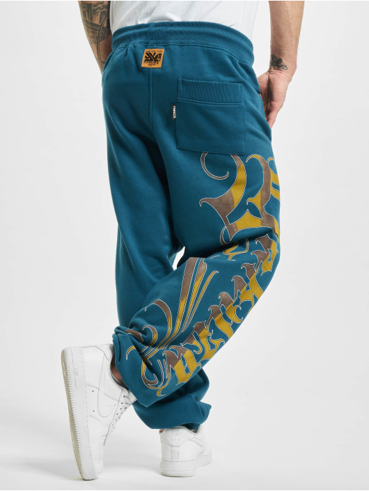 Yakuza Jogging kalhoty Glory modrý
