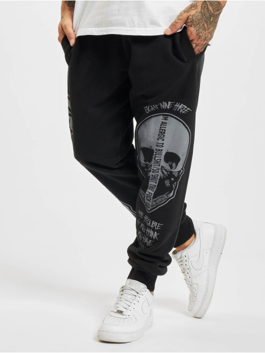 Yakuza Jogging Cuernos De Chivo noir