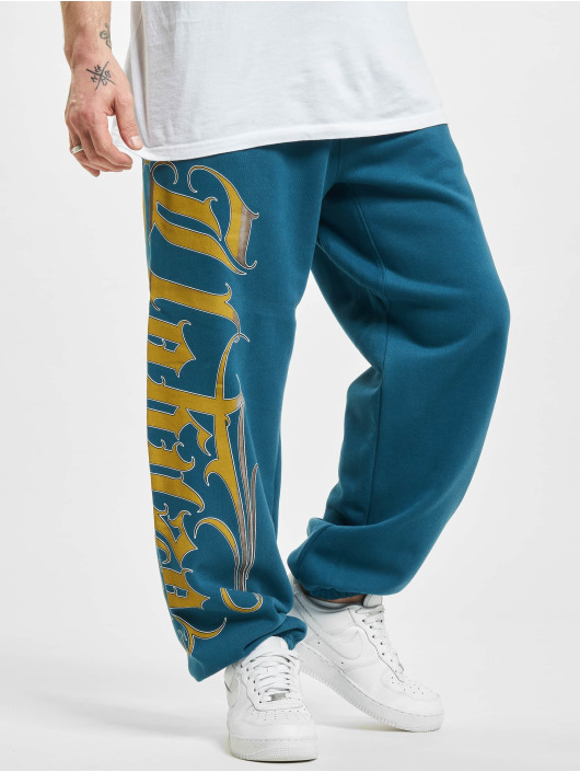 Yakuza joggingbroek Glory blauw