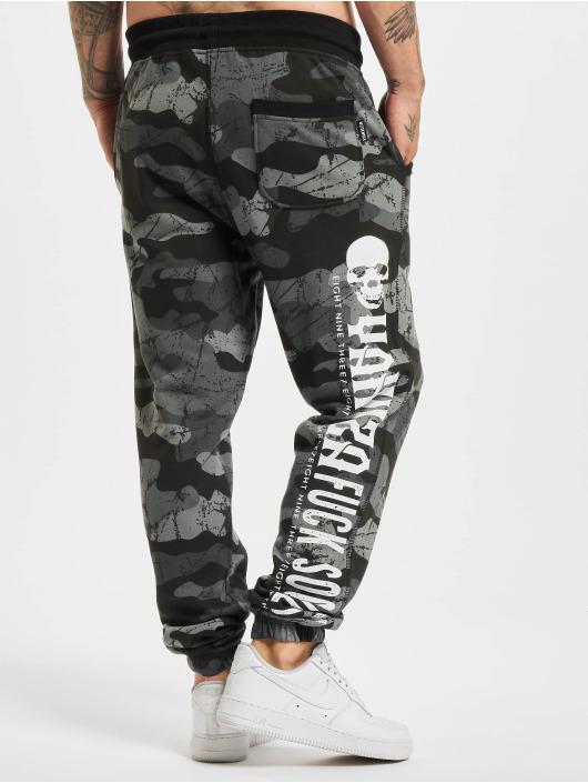Yakuza joggingbroek Society camouflage