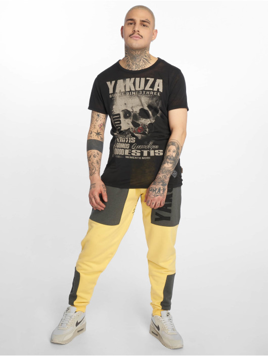 Yakuza joggingbroek Imperator Two Face geel