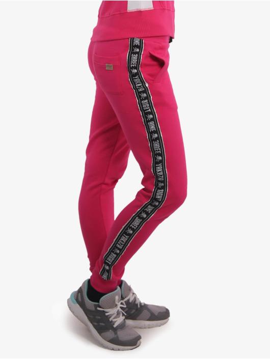 Yakuza joggingbroek Track Tape paars