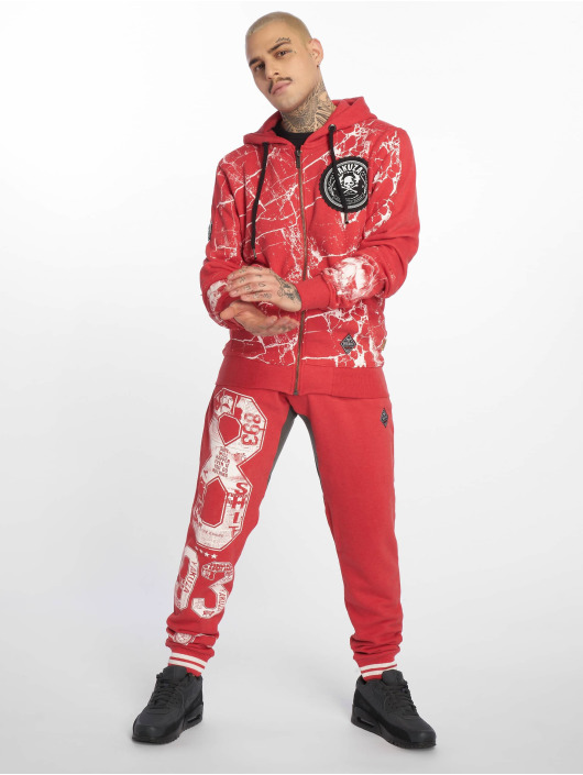Yakuza joggingbroek Badge Sweat rood