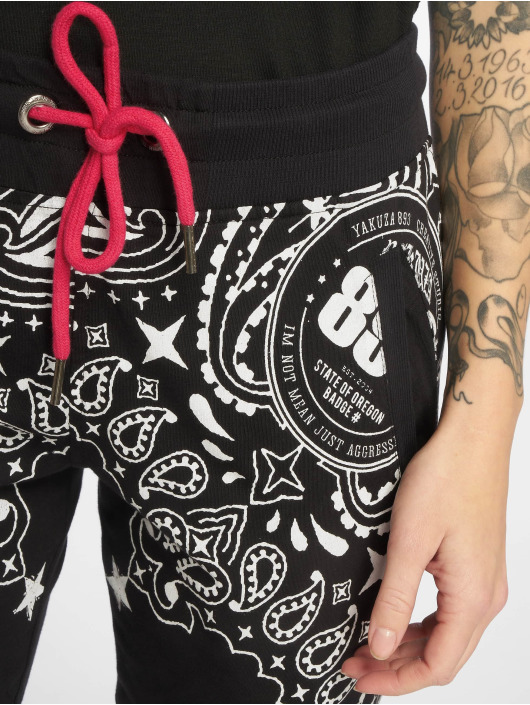 Yakuza joggingbroek Tijuana zwart