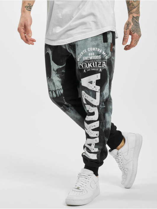 Yakuza Joggingbukser Muerte Skull sort