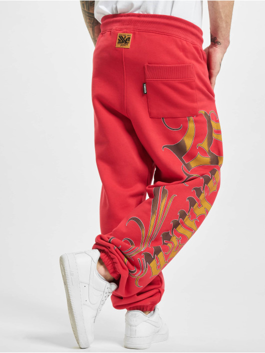 Yakuza Joggingbyxor Glory röd