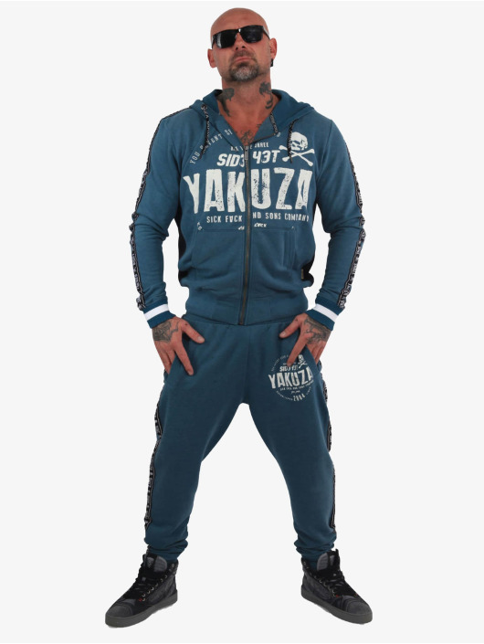 Yakuza Jogginghose Bad Side blau