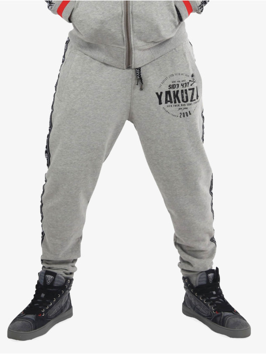 Yakuza Jogginghose Bad Side grau