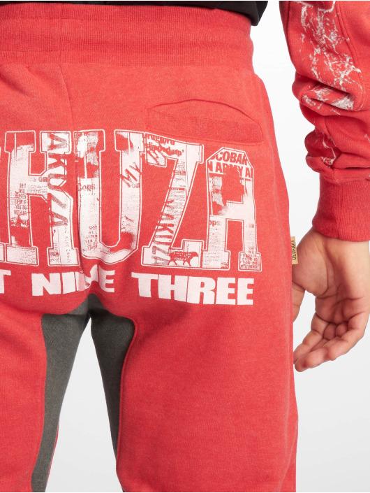 Yakuza Jogginghose Badge Sweat rot