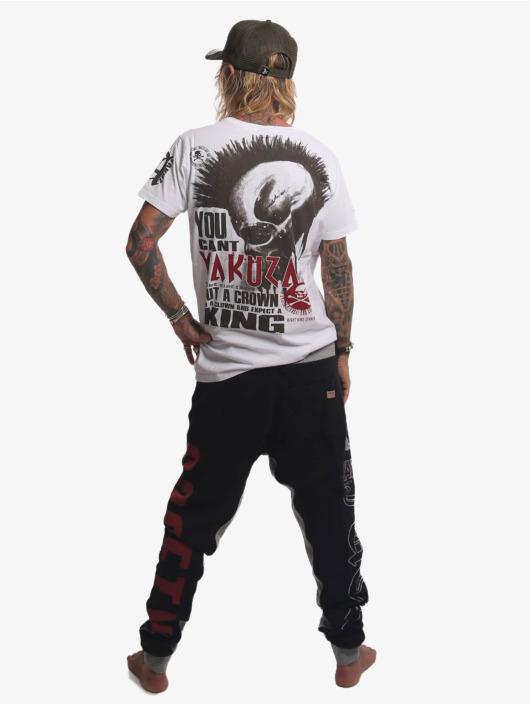 Yakuza Jogginghose Fuck Society schwarz
