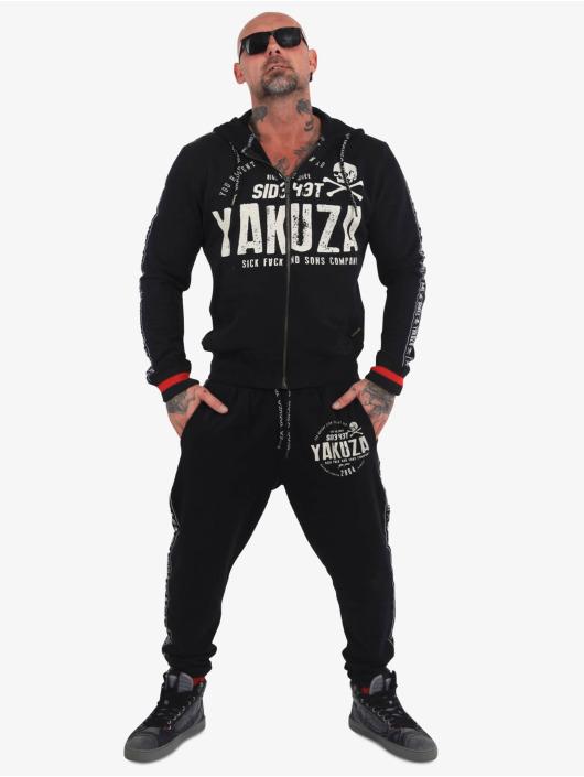 Yakuza Jogginghose Bad Side schwarz