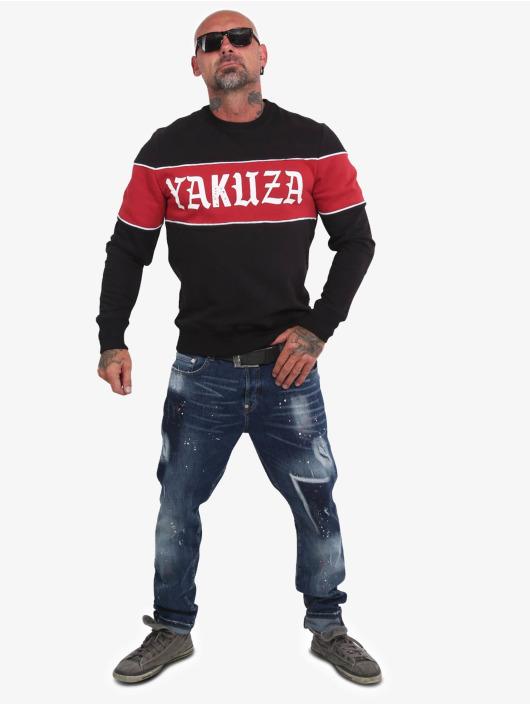 Yakuza Jumper Retro Stripe black
