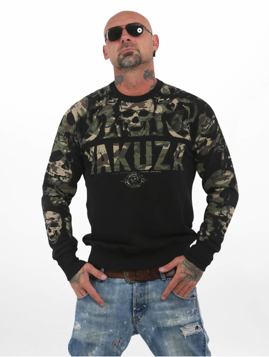 Yakuza Jumper Sick N Fxck camouflage