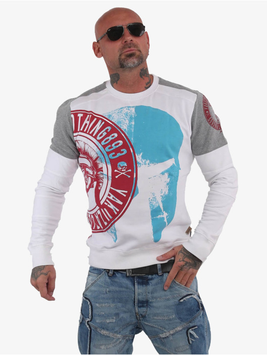 Yakuza Jumper Spartan Two Face white