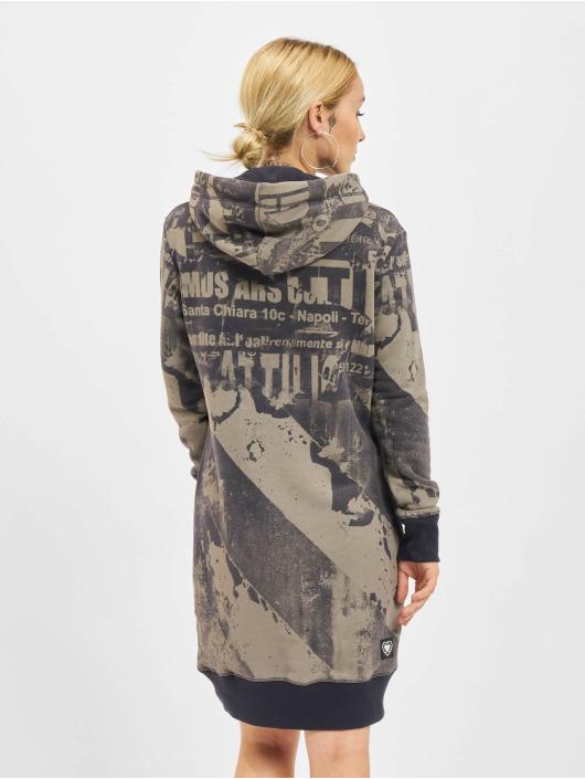 Yakuza jurk Grunge Sweat blauw